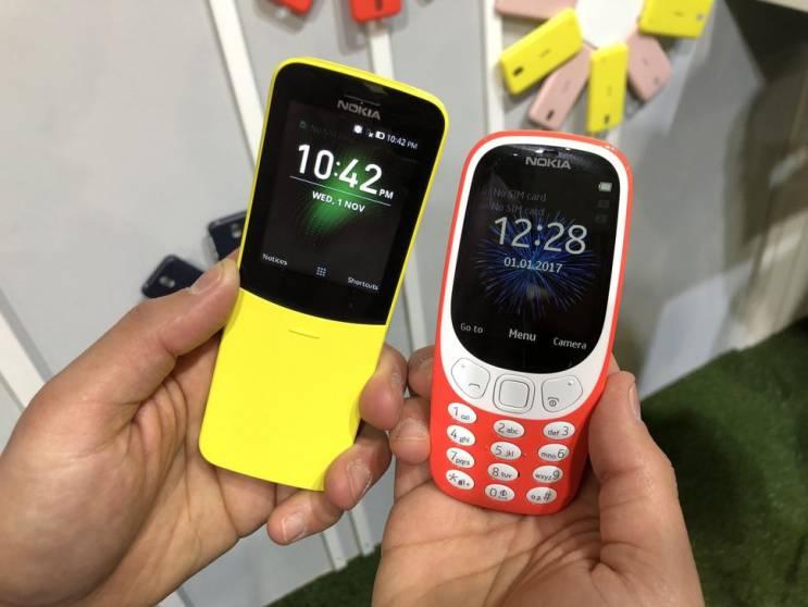 Nokia rispolvera 3310 e 8810