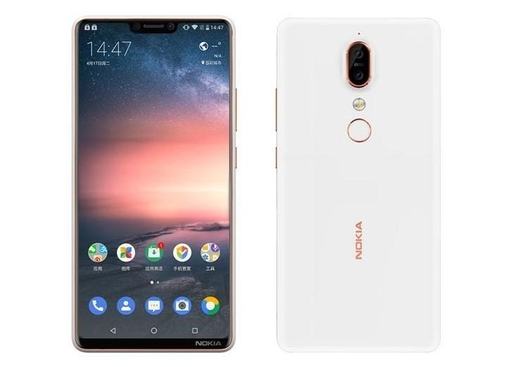 Immagine Press-render Nokia X6