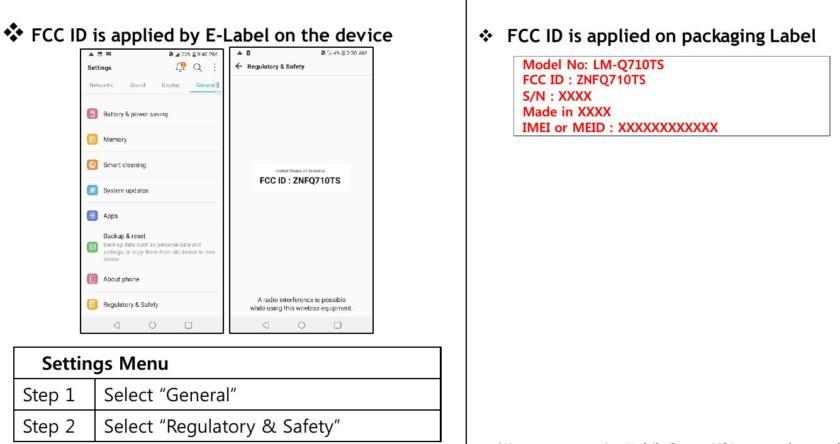 LG ottiene la certificazione dell'ente FCC