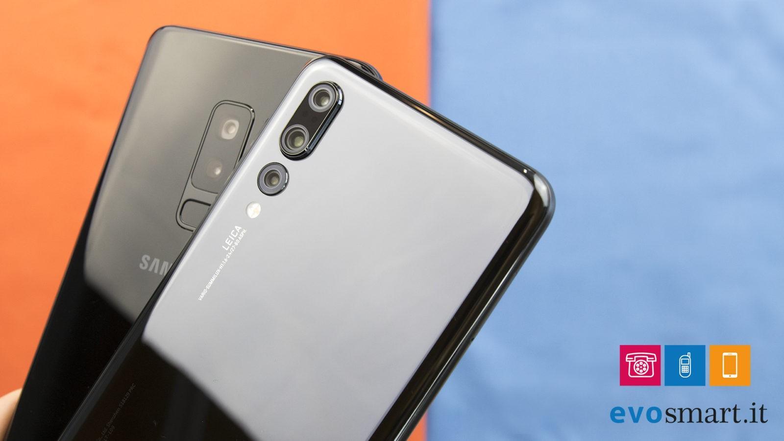 Samsung Galaxy S9+ VS Huawei P20 Pro