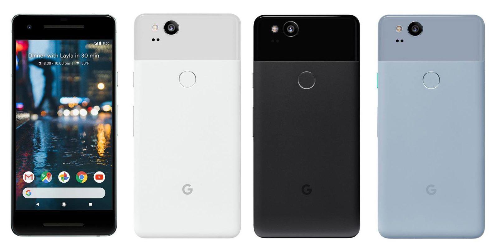 Pixel 2 e Pixel 2 XL