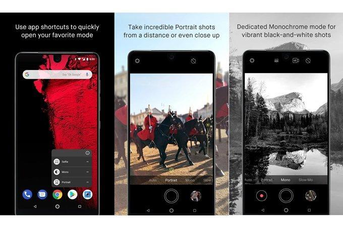 Disponibile un nuovo aggiornamento per la fotocamera di Essential Phone