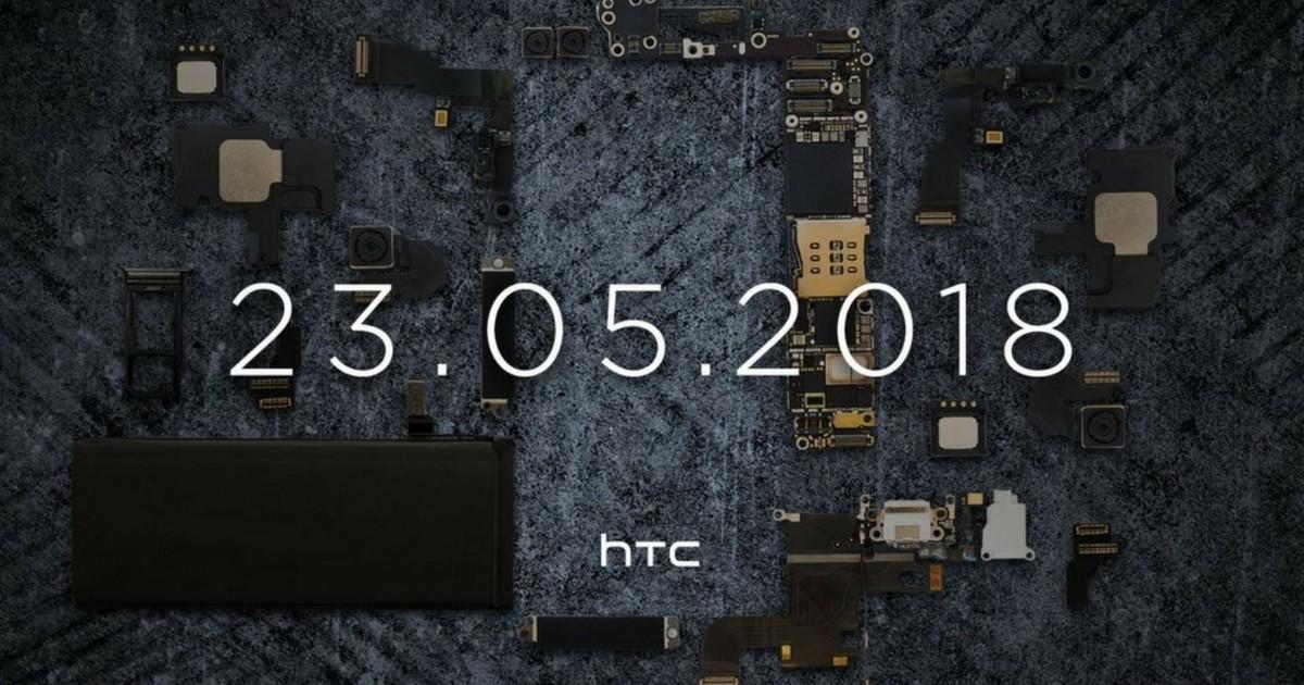 HTC fissa l'evento di presentazione di U12+ per il 23 maggio