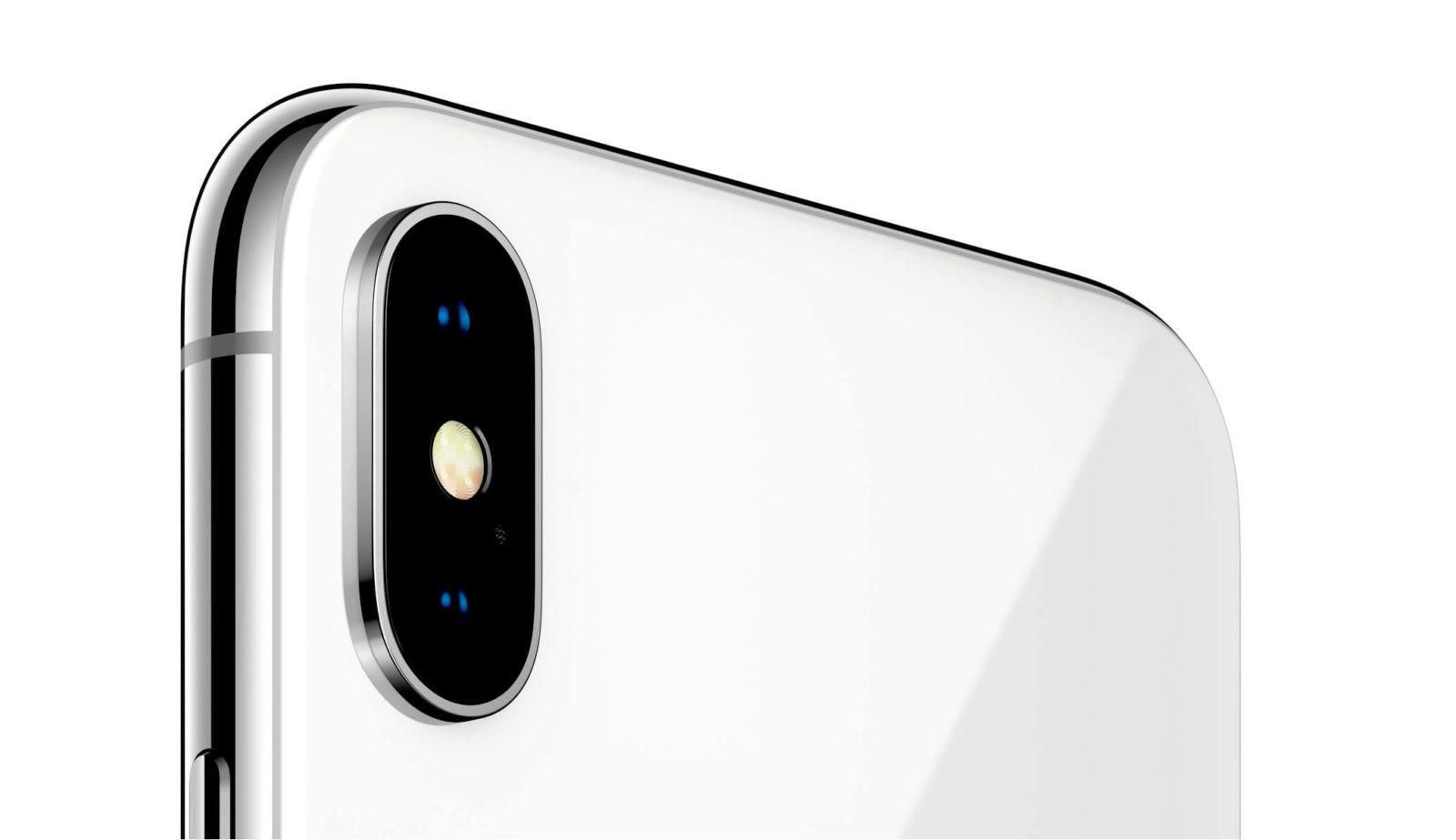 Graffi sulla fotocamera iPhone x