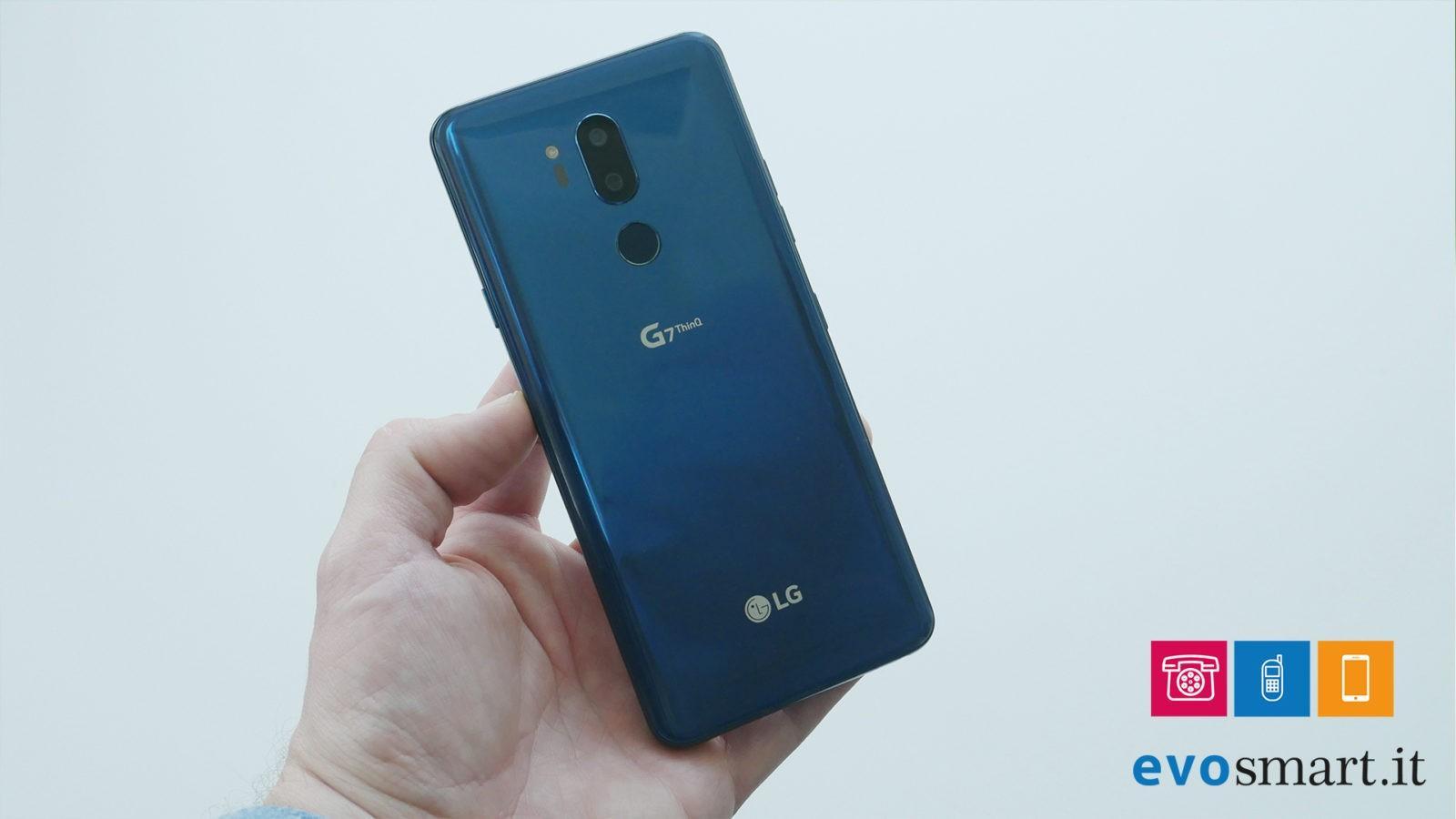 LG G7 doppia fotocamera