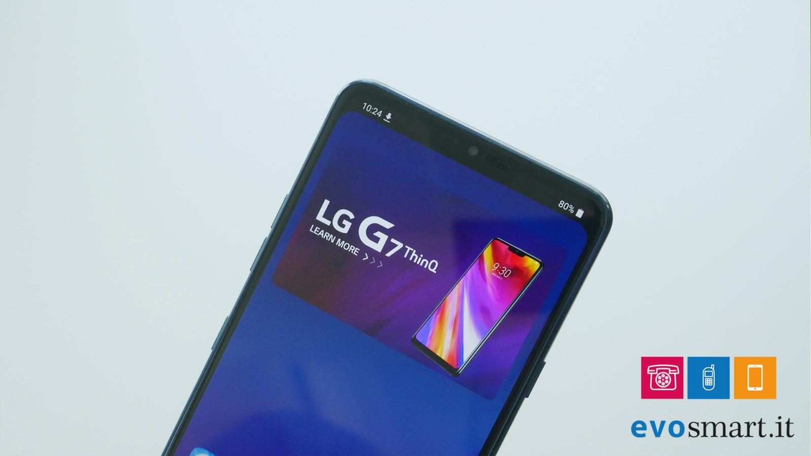 LG G7 ecco il notch