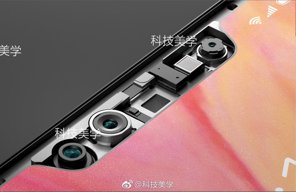 Questo leak ci svela cosa c'è sotto il notch di Xiaomi Mi 7