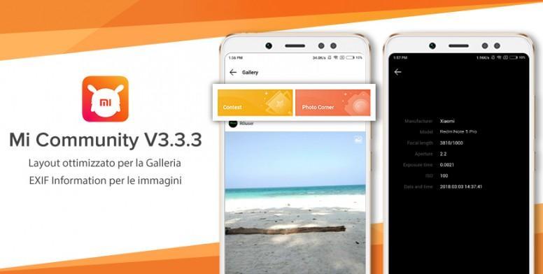 Arriva l'app ufficiale della Mi Community Italia