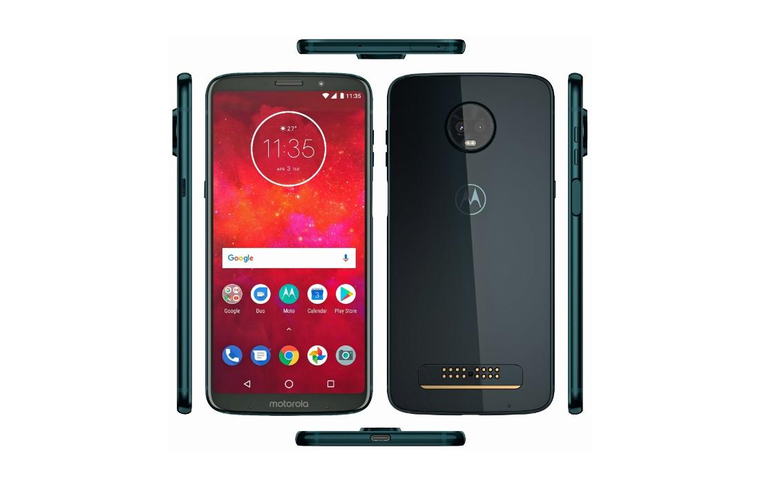 Un documento interno conferma le specifiche di Moto Z3 Play