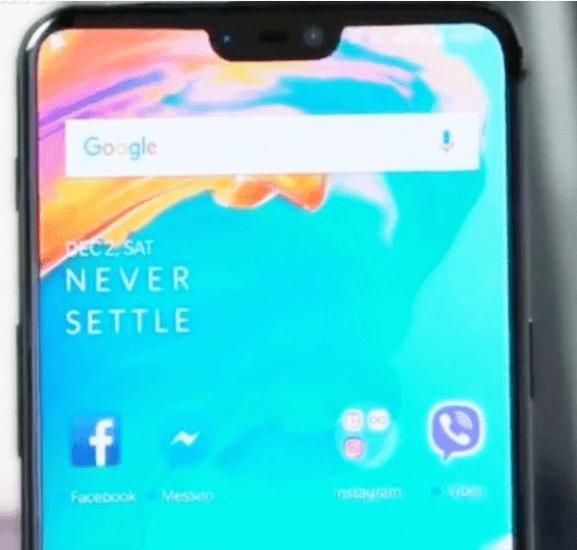 Ecco le immagini reali di OnePlus 6