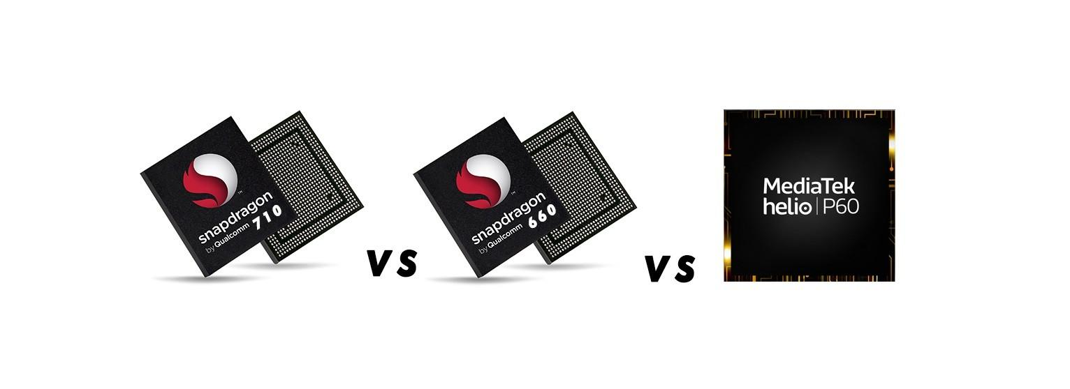 Snapdragon 710 vs Snapdragon 660 vs Helio P60
