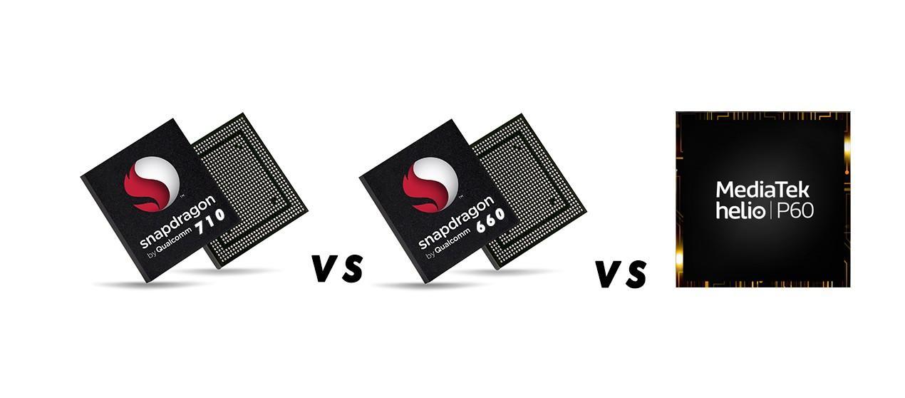 Snapdragon 710 vs Snapdragon 660 vs Helio P60