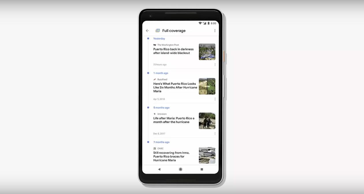 """Google News 2018 """"Full Coverage"""""""