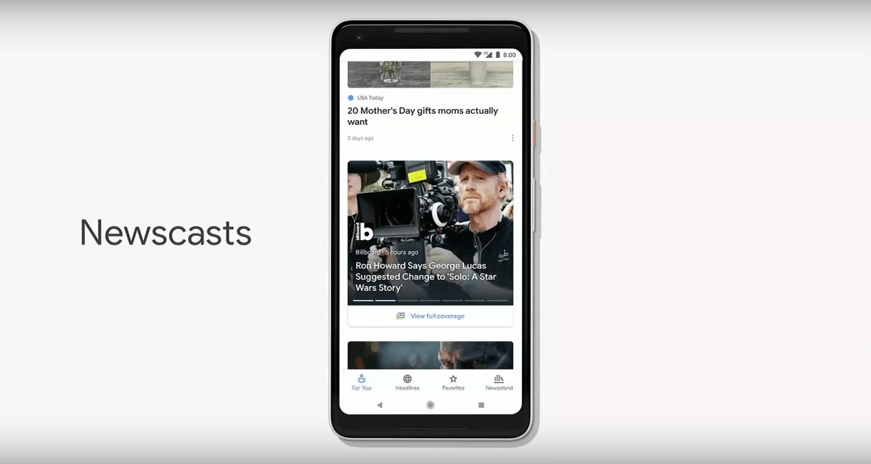 "Google News 2018 ""Newcast"""