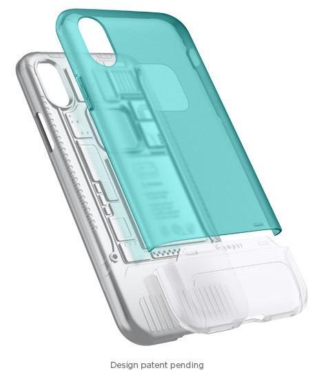 Classic C1. La cover iPhone X con 3  elementi protettivi.