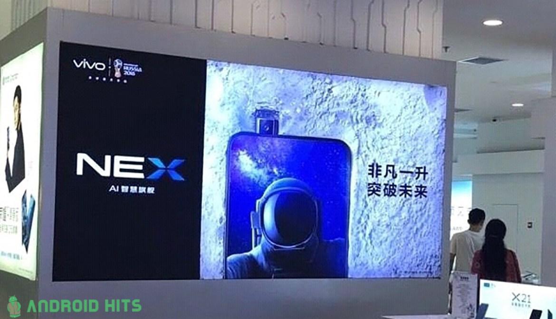 Vivo Apex, cartelloni pubblicitari visti in Cina