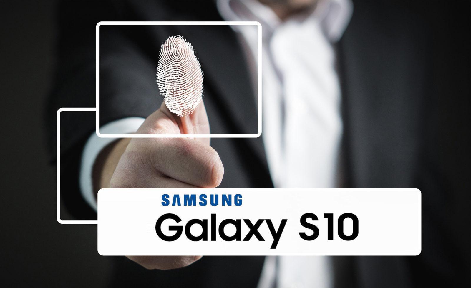 S10 sensore impronte sotto schermo