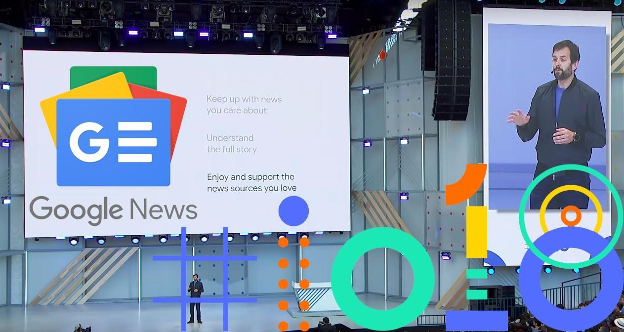 Google news IO 2018