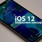 iOS 12 lockscreen concept