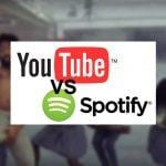 Youtube vs Spotify