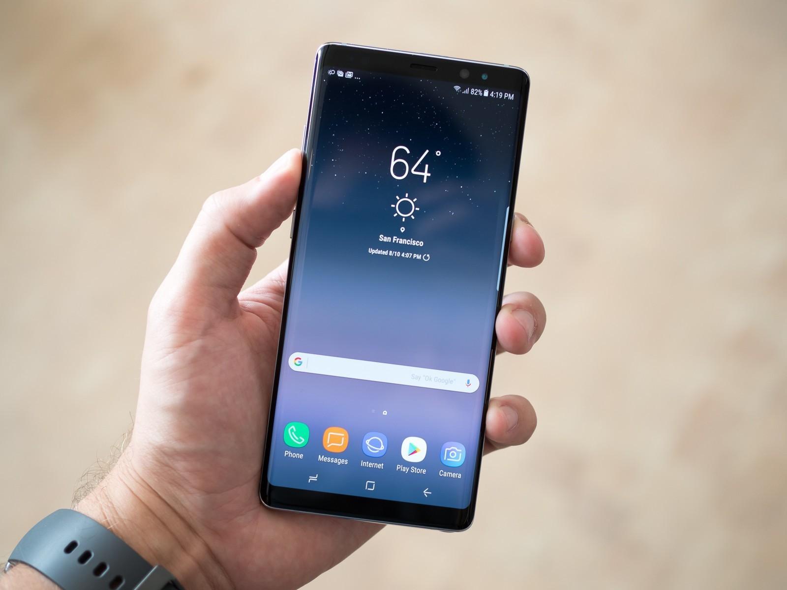 il nuovo Galaxy Note 9 potrebbe arrivare a fine Luglio.