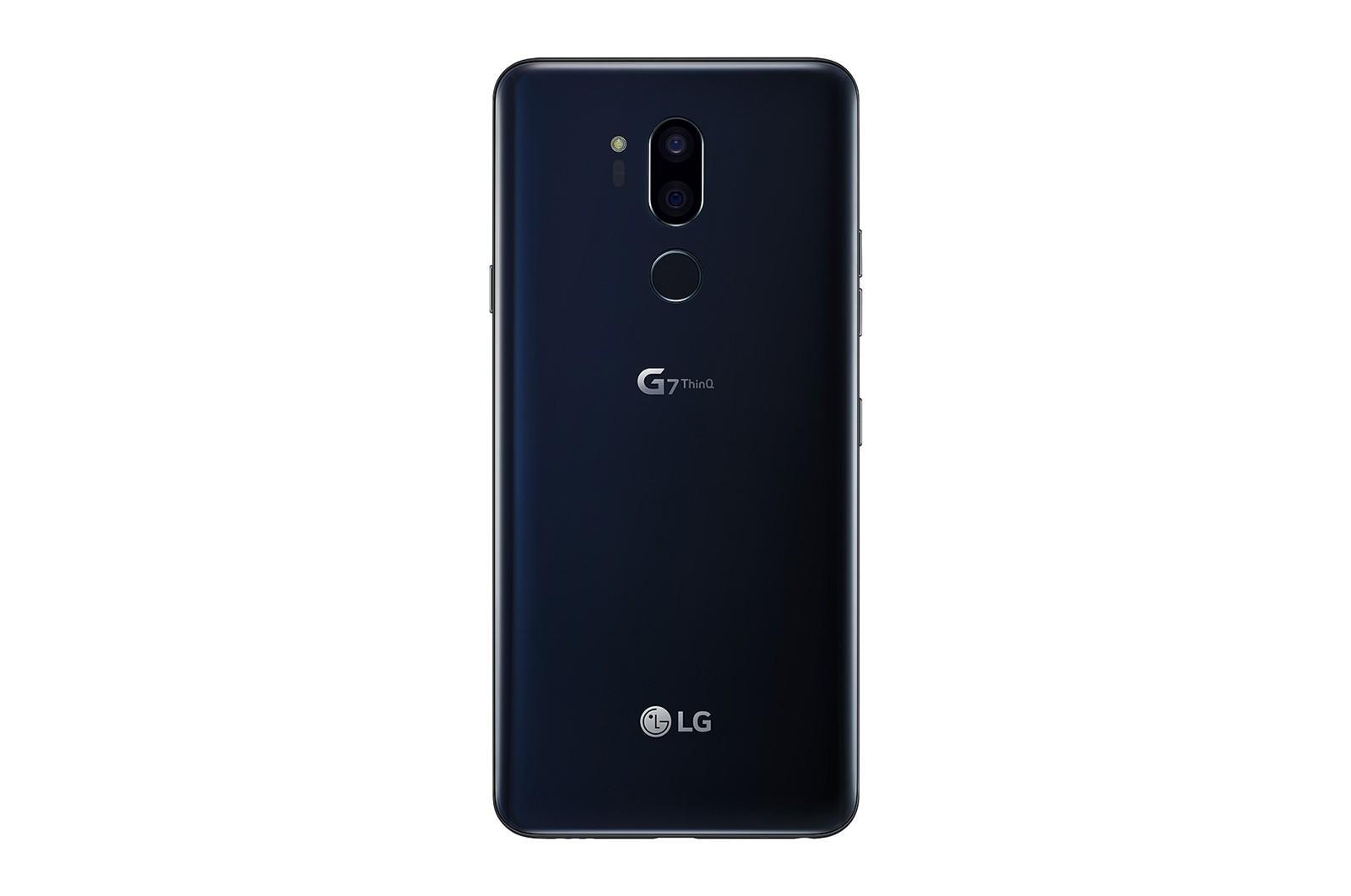 Render ufficiale del retro di LG G7 ThinQ   Evosmart.it