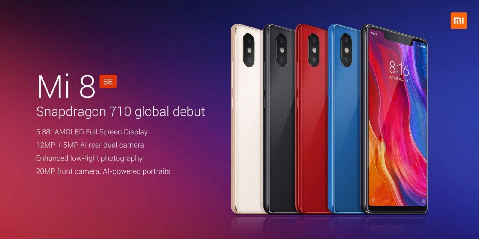 Xiaomi presenta MI8 SE | Evosmart.it