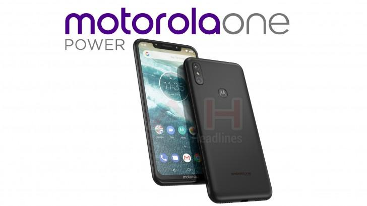 Motorola One Power: un Android One col notch