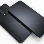 copertina OnePlus 6 fronte retro CAD