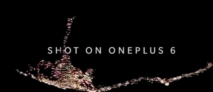 OnePlus 6 si mostra in un teaser con il super slow motion