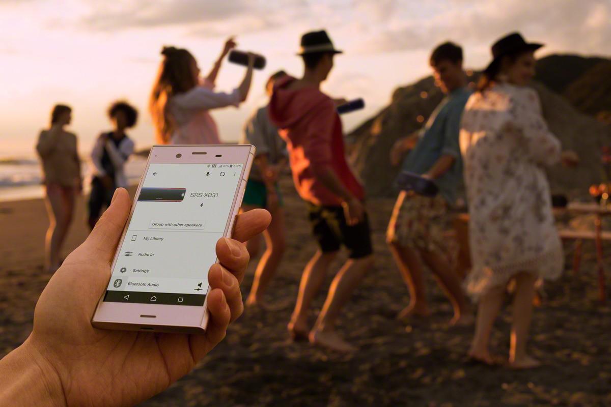 App per gestire gli speakers Sony