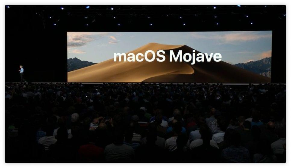 macOS Mojave si mostra