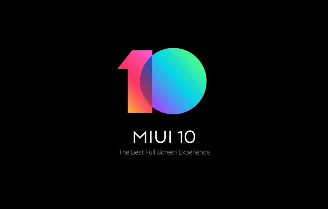 MIUI 10 Global disponibile già dal 7 Giugno!