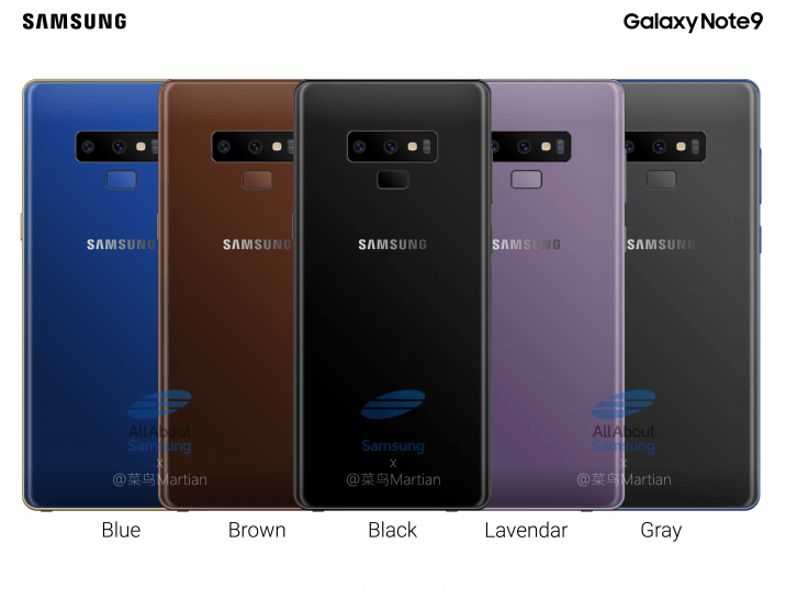 Samsung Galaxy Note 9 il phablet di Samsung