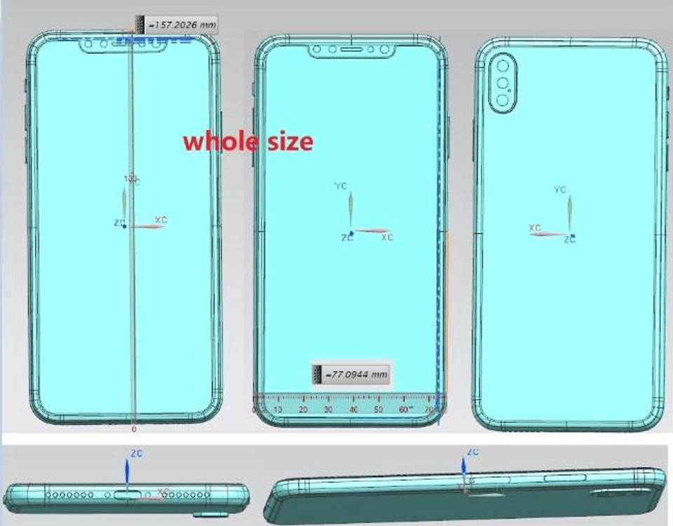 iPhone X Plus avrà la tripla fotocamera