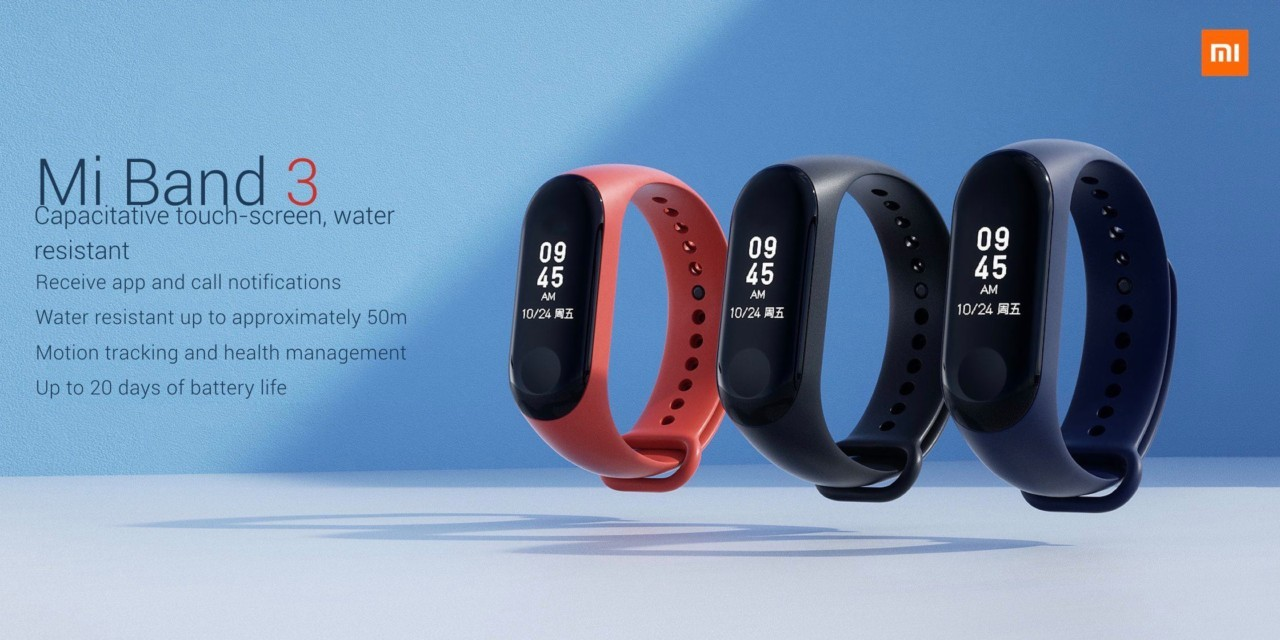 Xiaomi Mi Band 3 | Evosmart.it