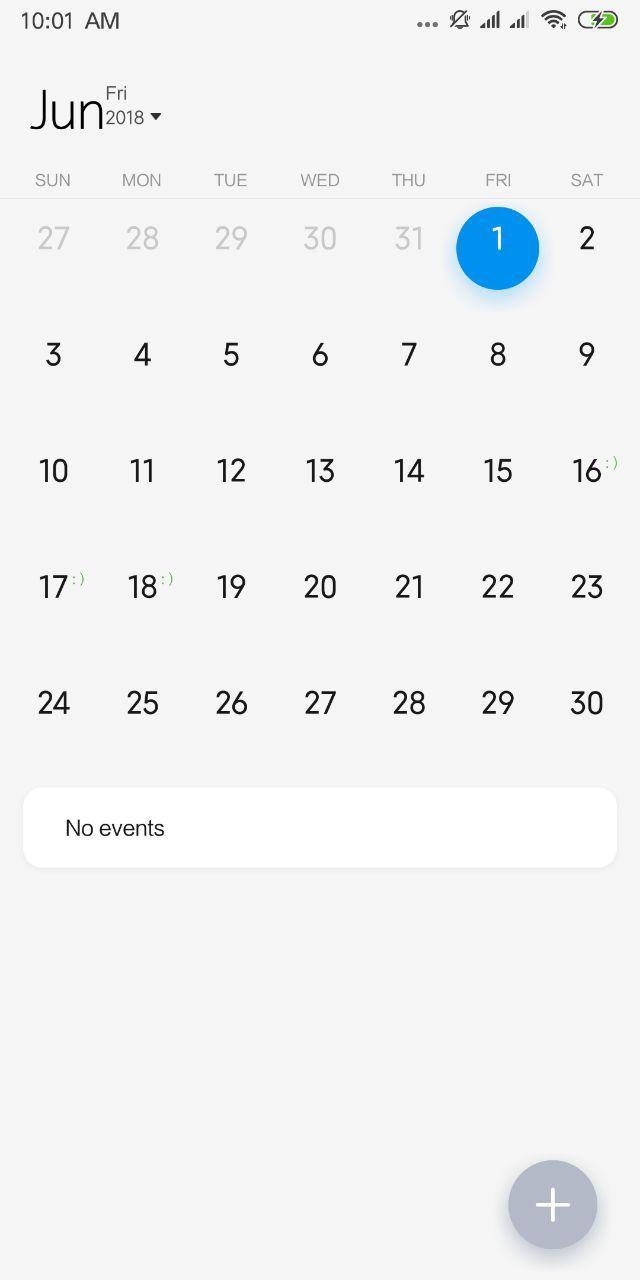 Nuovo calendario
