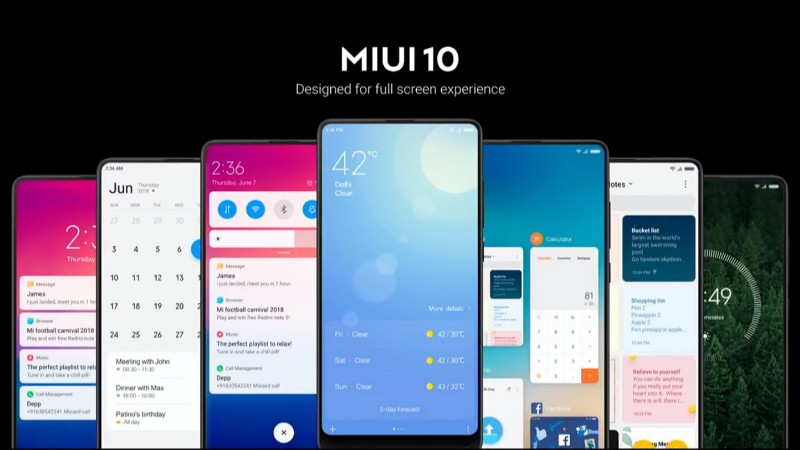 MIUI 10 Global | Evosmart.it