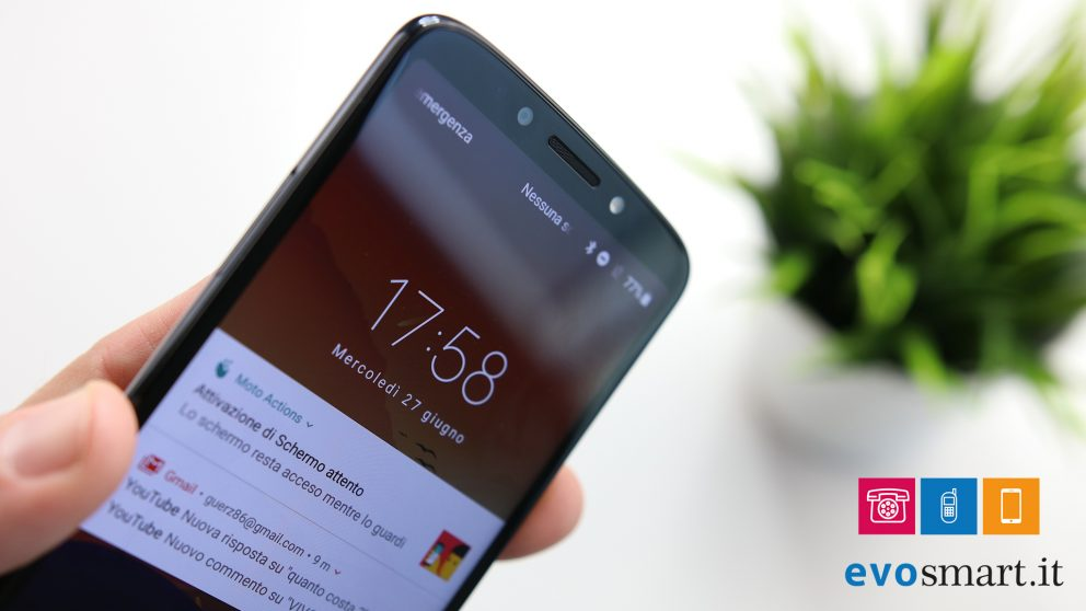 Recensione Moto G6 Play