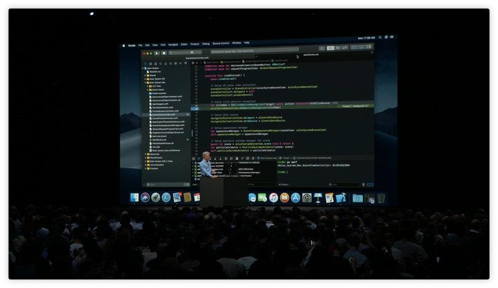 Xcode Dark Mode