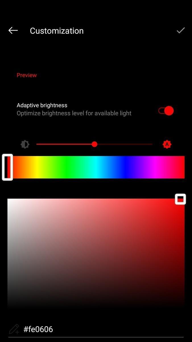 Ora c'è la possibilità di impostare un colore personalizzato per gli accenti | Evosmart.it