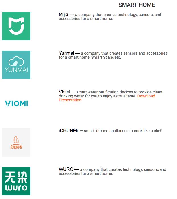 Alcuni Brand Xiaomi I Evosmart.it