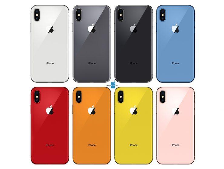 Più colori per i prossimi iPhone!