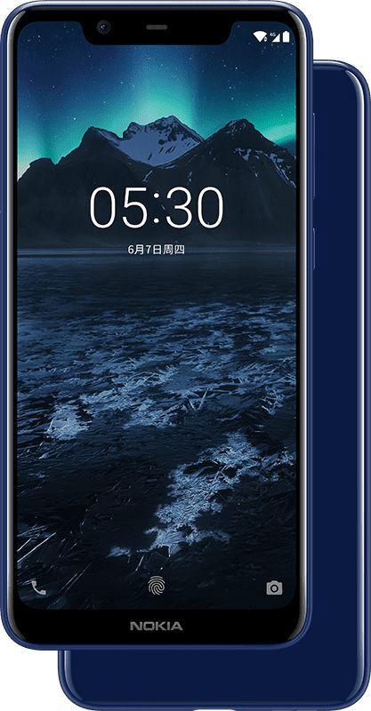 Nokia X5 nella variante blu | Evosmart.it
