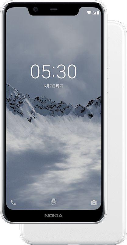 Nokia X5 nella variante bianca | Evosmart.it