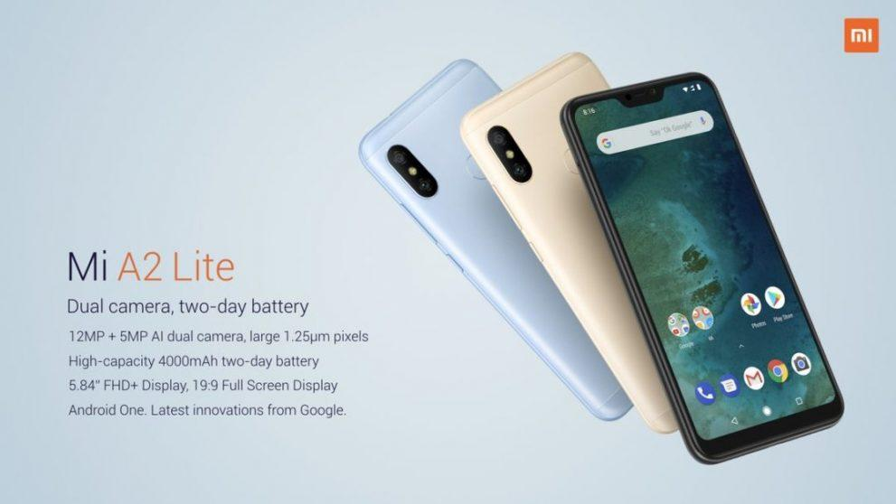 """2 is better than 1"", Xiaomi Mi A2 e Mi A2 Lite ora sono ufficiali!"