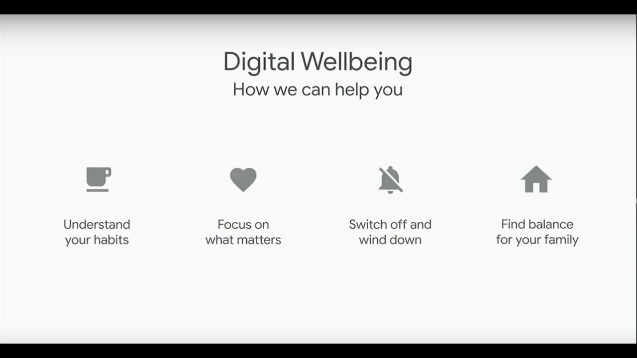 digital wellbeing copertina