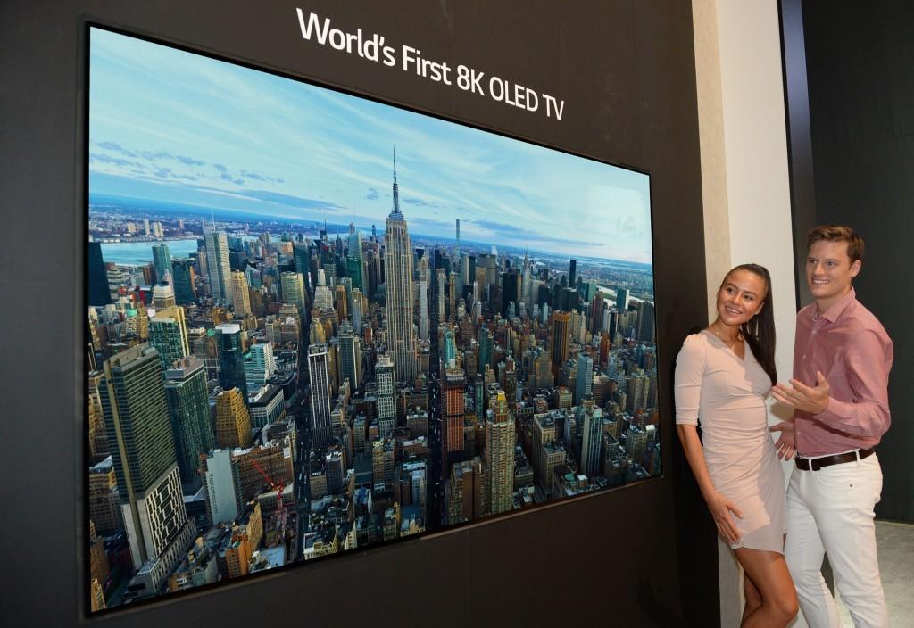 IFA 2018 | LG presenta la prima TV OLED 8K al mondo