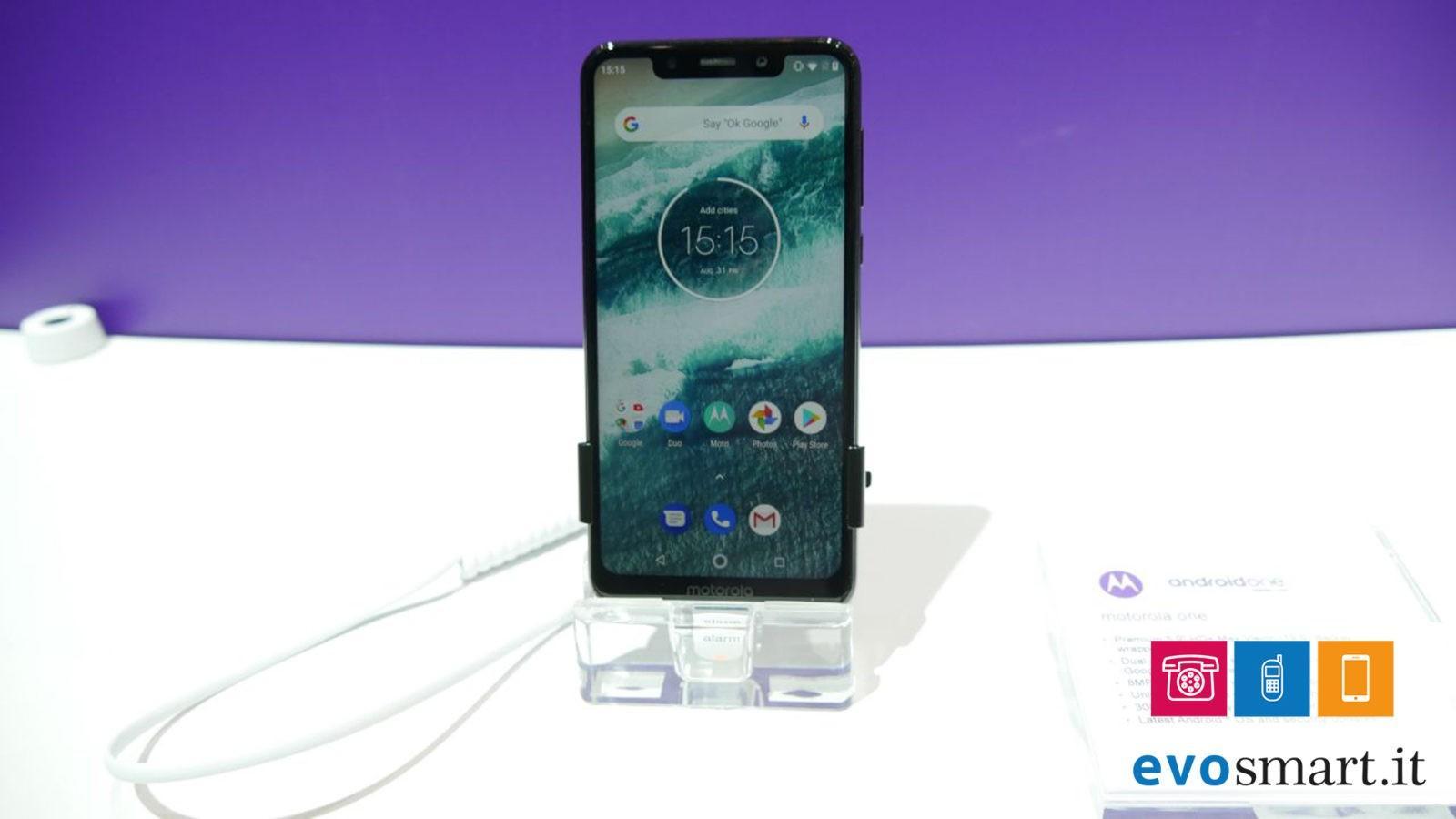 IFA 2018 | Motorola One un nuovo smartphone sempre aggiornato | Evosmart.it
