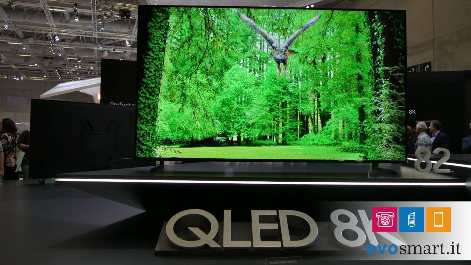 IFA 2018 | Samsung presenta la sua prima TV con risoluzione 8K | Aggiornamento | Evosmart.it